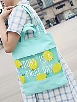 Women Canvas Casual / Outdoor Shoulder Bag