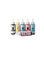 geeignet für Epson R330 Tintenstrahldrucker mit 6 Farben (70mlmagenta, Cyan, Light Cyan, Light Magenta, Gelb, Schwarz) Farbstofftinte
