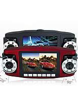 voyageant enregistreur de données / double lentille / hd vision nocturne / enregistreur de disque / intérieur de la voiture