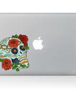 Flower Skeleton Decorative Skin Sticker for MacBook Air/Pro/Pro with Retina