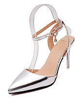 Girl's Sneakers Spring / Fall Heels PU Casual Stiletto Heel Others Silver / Gray / Gold Others