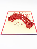 Paper Craft 3D Pop-up Greeting Card For Birthday Party Festival