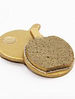 Frenos de bicicletas y piezas(Dorado,sintético / acero / cobre) -Bremsbelag