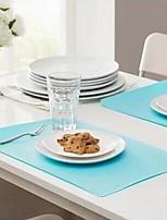 Plastique Rectangulaire Sets de table