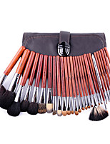28Pcs Animal Wool Professional Makeup Brush Set