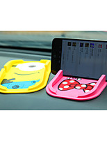 Lovely Cartoon Silica Gel Mobile Phone Support Vehicle Multifunctional Vehicle Rack Anti Slip