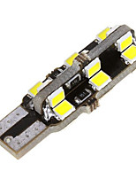 10st t10 24SMD auto kant wig koepel lamp 2835 witte auto LED verlichting (12V)