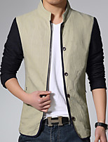 In the spring of 2016 new men's casual jacket cotton jacket coat male fashion tide