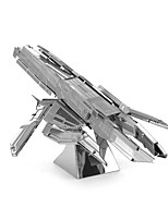 Jigsaw Puzzles 3D Puzzles Building Blocks DIY Toys Tank 1 Metal Silver Novelty Toy