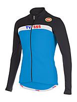 Esportivo Moto/Ciclismo Blusas Homens Manga Comprida Respirável / Vestível / Mantenha Quente / Tecido Ultra Leve Terylene / LYCRA®