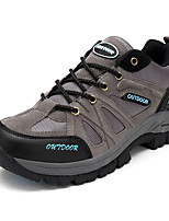Синий / Коричневый / Зеленый / Серый-Мужской-Для прогулок-Замша / Тюль-На плоской подошве-Удобная обувь-Кеды