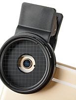 zomei® 37 mm 4 x clip lumière d'étoile iphone lense pour iphone / caméra smartphone Android