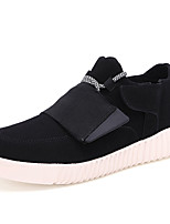 Men's Sneakers Spring / Fall Comfort PU Casual Flat Heel  Black / Blue / Gray Running