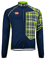 Sports Bike/Cycling Tops Men's Long Sleeve Breathable /Ultra Light Fabric / Thermal / Warm LYCRA® / Terylene