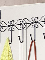 Iron After The Door Hook Seamless Sticky Hooks Creative Continental Gate Back Hangers