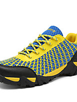 Men's Sneakers Spring / Summer / Fall / Winter Tulle Outdoor Flat Heel Others Blue / Yellow / Gray / Orange Hiking