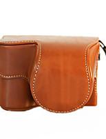 Sac-Une épaule-Appareil photo numérique-Sony-Résistant à la poussière-Noir / Café / Marron