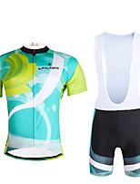 PALADIN Fahhrad/Radsport Kleidungs-Sets/Anzüge Herrn / Unisex Kurze ÄrmelAtmungsaktiv / UV-resistant / Rasche Trocknung / Leichtes