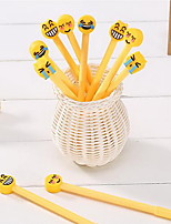 Ручка Гелевые ручки,Пластик Черный