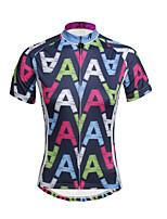 PaladinSport Women Short Sleeve Cycling Jersey DX651 Cool  A