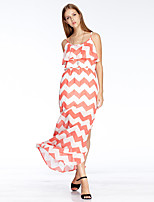 Heart Soul® Women's Strap Sleeveless Maxi Dress-11AA15774C