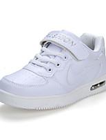 Boy's Sneakers Spring / Fall Comfort PU Casual Flat Heel Magic Tape Black / Blue / White Sneaker