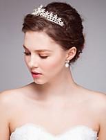 Women's Alloy / Imitation Pearl Headpiece-Wedding / Special Occasion / Casual Tiaras /  Hair Tool 1 PieceSilver /