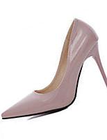 Damen-High Heels-Lässig-PU-Stöckelabsatz-Absätze-Schwarz / Grün / Rosa / Rot / Weiß