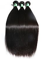 3 Pièces Droit (Straight) Tissages de cheveux humains Cheveux Brésiliens Tissages de cheveux humains Droit (Straight)