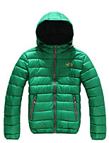 The North Face Men's Down Hoodie Jacket Waterproof Windproof Outdoor Sports Trekking Camping Hiking Full Zipper Jackets
