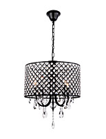 MAX:60W Chandelier ,  Traditional/Classic Painting Feature for Crystal Metal Bedroom / Dining Room / Study Room/Office