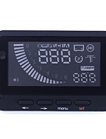 HUD Head Up Display Driving Computer Fuel Consumption Meter Speed Prompted
