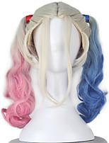 Cosplay-Feminino-Azul / Rosa-Perucas de Cosplay- comPerucas-Outro