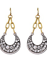 Drop Earring Jewelry 1 pair Fashionable Glass Gold / Silver Daily / Casual