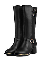 Women's Boots Spring / Fall  Leisure brush color restoring ancient ways the outermost layer of skin short boots