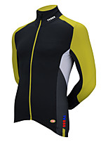Sports Bike/Cycling Tops Men's Long Sleeve Ultra Light Fabric / Thermal / Warm LYCRA® / TeryleneClassic /
