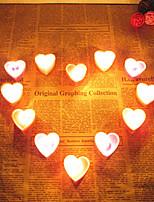 Resina Decoraciones de la boda-8Piezas / Juego Adornos San Valentín / Aniversario / Boda tema rústico Rojo / Rosa / MoradoPrimavera /
