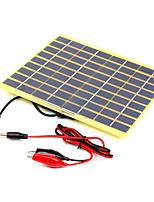 5w 18v портативный монокристаллические солнечные панели автомобиля автомобильный аккумулятор перезаряжаемая зарядное устройство (swb5018c)