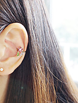 Earring Flower Jewelry Women Fashion Daily / Casual Alloy 1pc Gold
