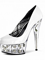 Women's Heels Heels Patent Leather Wedding/Party & Evening/Dress Stiletto Heel Black/Pink/Red/White Others