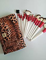 24Pcs Leopard Makeup Brush Sets