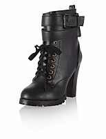 Women's Boots / Fashion Boots / Round Toe Office & Career / Party & Evening / Dress / Casual Chunky HeelRibbon