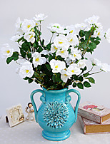 Hi-Q 1Pc Decorative Flower Wild Rose Wedding Home Table Decoration Artificial Flowers