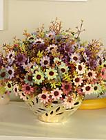 1 1 Филиал Пластик Ромашки Букеты на стол Искусственные Цветы 12.9inch/33cm