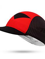 Велосипедная шапочка Кепка Велоспорт С защитой от ветра / Защита от солнечных лучей унисекс Чёрный 100% полиэстер