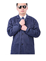 Blue Long Sleeve Men And Women Protective Work Clothing