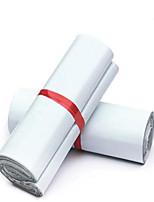 завод прямой белый новый материал 28 * 42см специальные курьерские Taobao сумки пластиковые мешки оптовой доставки