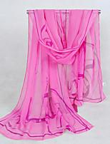 Women's Chiffon Grace Scarf,Red/Yellow/Green/Pink/Royal Blue