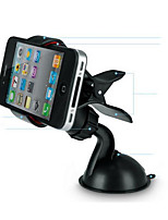 Car Mini Mobile Phone Carrier Car With 360 Degrees Rotation GPS Navigation Support Fish Mouth Clip