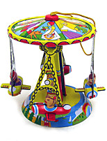 the air Wind-up Toy Leisure Hobby Metal Yellow For Kids